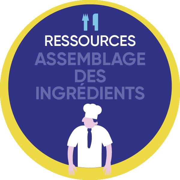 Assemblage Des Ingredients
